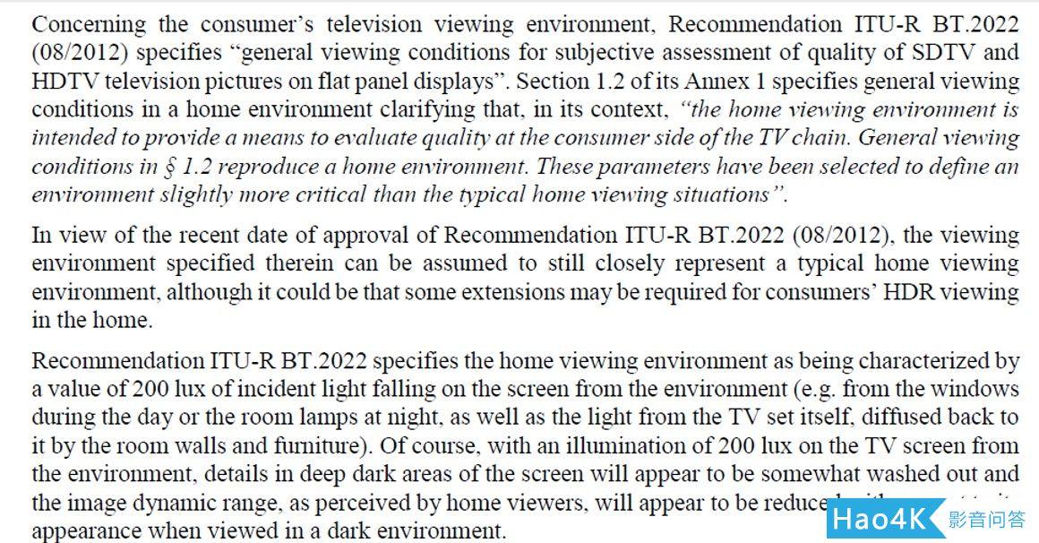 转载:谈一下个人对于HDR的看法1